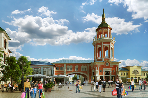 Outlet Village Belaya Dacha II phase